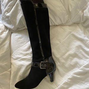 Joan & David kitten heel boots